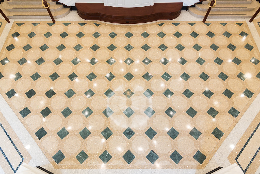 Terrazzo Beautiful Low Maintenance Durable Floor System