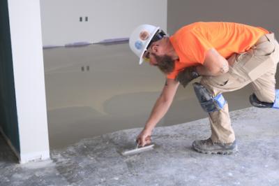 concrete preparation